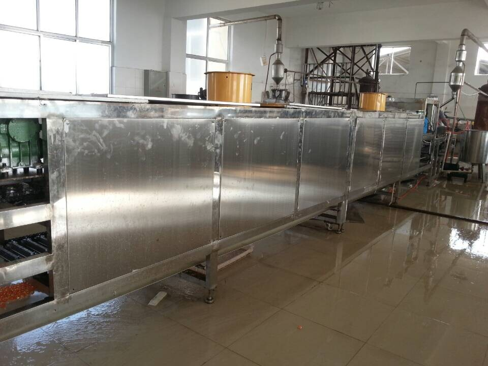 soft jelly production line, soft candy production line, carrageenan soft jelly production line